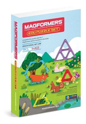 Magformers, Edu Puzzle Set, 7 pieces  -