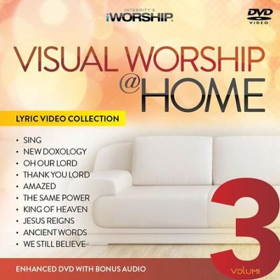 iWorship Visual Worship @ Home, Volume 3 DVD  -