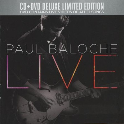 Paul Baloche Live CD/DVD Combo   -     By: Paul Baloche