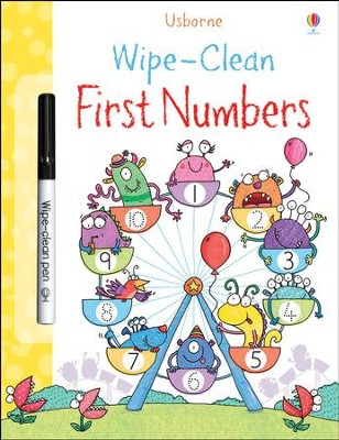 Usborne Wipe-Clean: First Numbers  -     By: Stacey Lamb