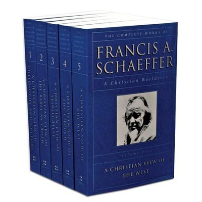 The Complete Works of Francis Schaeffer,  5 Volumes  -     By: Francis A. Schaeffer