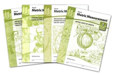Key to Metric Measurement, Books 1-4  -