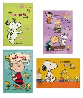Birthday Peanuts Cards Box Of 12Birthday 12Ask A