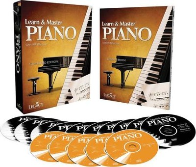 Learn & Master Piano DVD Kit, Academic Edition   -
