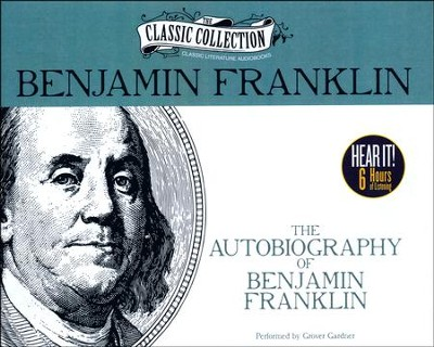 The Autobiography of Benjamin Franklin - unabridged audiobook on CD  -     Narrated By: Grover Gardner     By: Benjamin Franklin