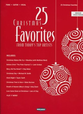 25 Christmas Favorites from Today's Top Artists   -