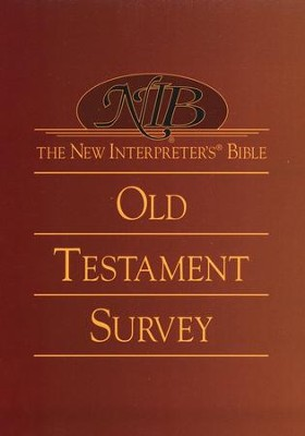 The New Interpreter's Bible Old Testament Survey - Slightly Imperfect  -