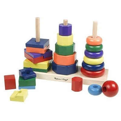 Wood Geometric Stacker   -     By: Melissa & Doug