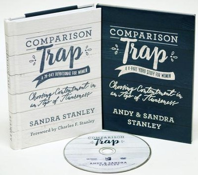 Comparison Trap DVD Study & Devotional   -     By: Andy Stanley, Sandra Stanley