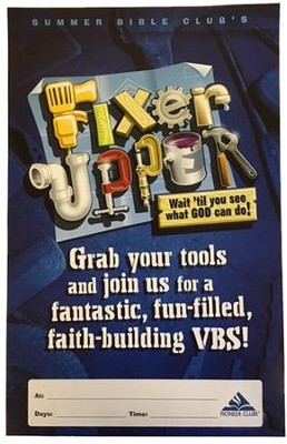 Fixer-Upper VBS: Promotional Poster   -