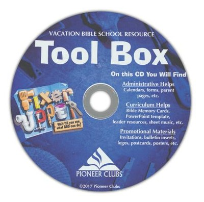 Fixer-Upper VBS: Resource CD   -