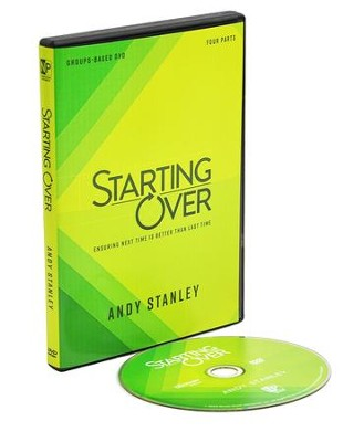 Starting Over: DVD Study  -     By: Andy Stanley