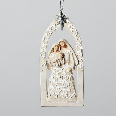 Holy Family, Papercut Ornament  -