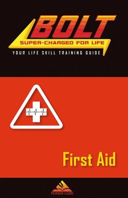 BOLT First Aid Life Skill Training: Guide for Kids, 5 pack  -