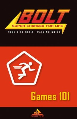 BOLT Games 101 Life Skill Training: Guide for Kids, 5 pack  -