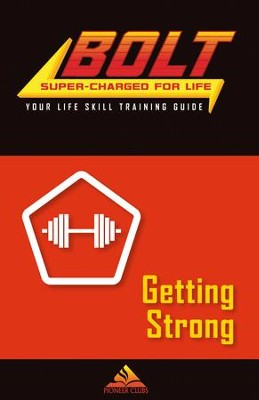 BOLT Getting Strong Life Skill Training: Guide for Kids, 5 pack  -
