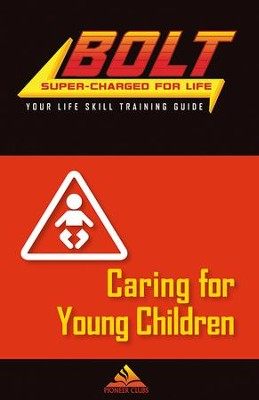 BOLT Caring for Young Children Life Skill Training: Guide for Kids, 5 pack  -