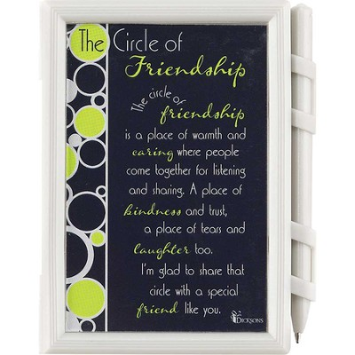 Circle of Friendship Memo Pad and Pen  -