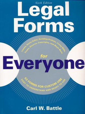 Legal Forms for Everyone  -     By: Carl Battle