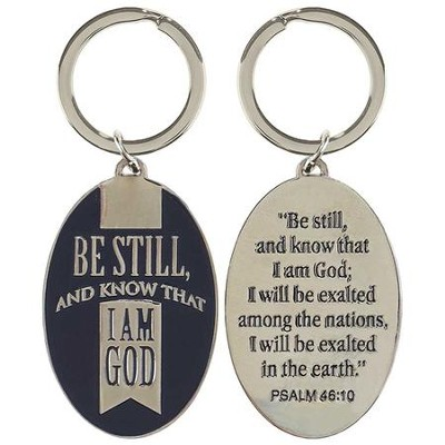 Be Still and Know Keyring  -