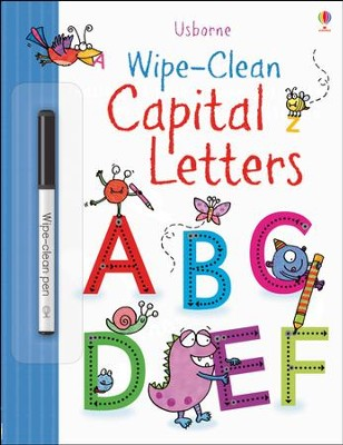 Usborne Wipe-Clean: Capital Letters  -     By: Stacey Lamb