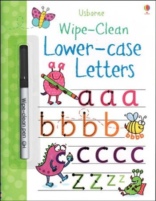 Usborne Wipe-Clean: Lower-case Letters  -     By: Stacey Lamb