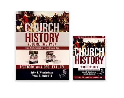 Church History, Volume Two Pack: From Pre-Reformation to the Present Day  -     By: John D. Woodbridge, Frank A. James III