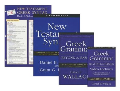 Greek Grammar Beyond the Basics Pack: An Exegetical Syntax of the New Testament  -     By: Daniel B. Wallace