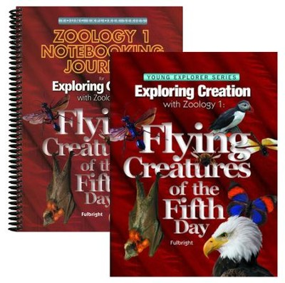 Exploring Creation with Zoology 1: Flying Creatures of  the Fifth Day Advantage Set (Notebooking Journal)  -     By: Jeannie Fulbright