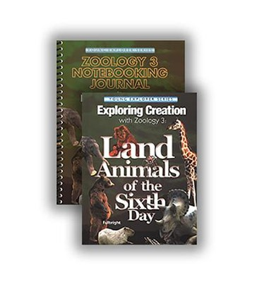 Exploring Creation with Zoology 3: Land Animals of the  Sixth Day Advantage Set (with Notebooking Journal)  -     By: Jeannie Fulbright
