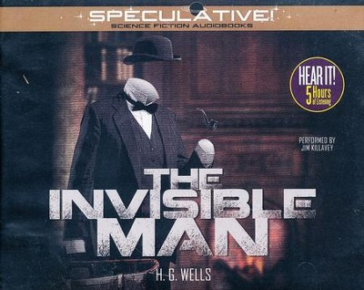 The Invisible Man - unabridged audiobook on CD  -     Narrated By: Jim Killavey     By: H.G. Wells