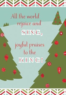 All the World Rejoice and Sing Cards, Box of 16  -