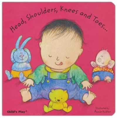 Head, Shoulders, Knees and Toes Board Book   -