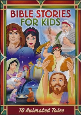 Bible Stories for Kids: 10 Animated Tales, 2-DVD Set   -