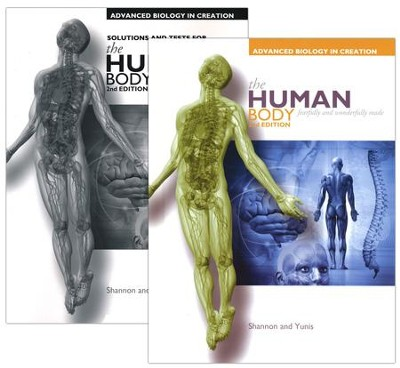 Apologia Advanced Biology In Creation The Human Body Basic Set 2nd Edition