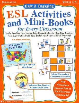 easy engaging esl activities and mini books for every classroom