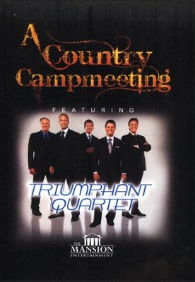 A Country Campmeeting   -     By: Triumphant Quartet