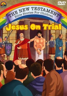 Jesus on Trial, Animated DVD   -
