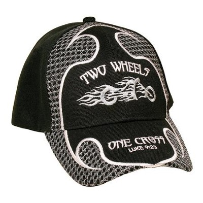Two Wheels Cap, Black  -