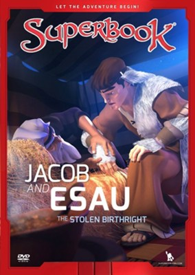 Jacob and Esau: The Stolen Birthright DVD   -