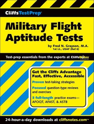 CliffsTestPrep Military Flight Aptitude Tests  -     By: Fred N. Grayson