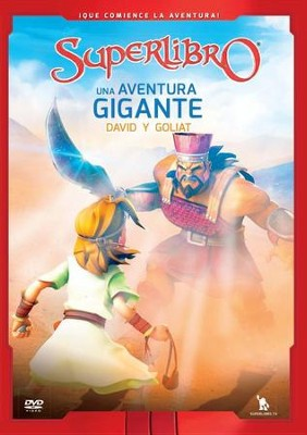 Superlibro: Una Aventura Gigante, David y Goliat  (Superbook: A Giant Adventure, David and Goliath), DVD  -