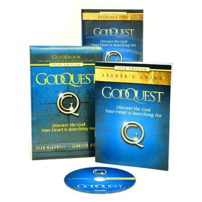 GodQuest DVD-Based Study for Teens   -     By: Sean McDowell