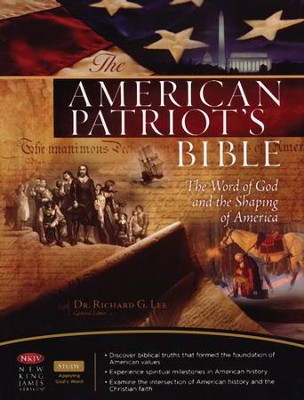 The NKJV American Patriot's Bible, Hardcover - Slightly Imperfect  -