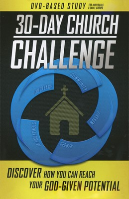 30-Day Church Challenge DVD-Based Study for Individuals & Small Groups  -