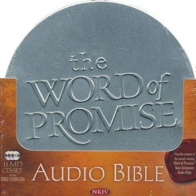 The NKJV Word of Promise: Complete Audio Bible On MP3 CD-ROMs   -
