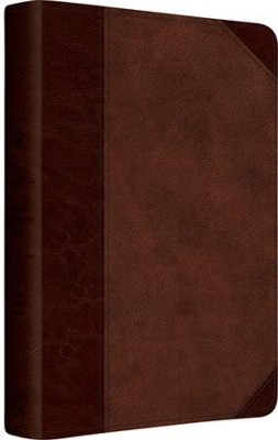 ESV Gospel Transformation Bible (TruTone, Brown/Walnut, Portfolio)  -