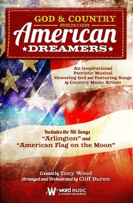 American Dreamers, Choral Book   -     By: Tony Wood, Cliff Duren