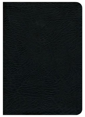 NASB MacArthur Study Bible Large Print Black Bonded Indexed - Slightly Imperfect  -