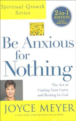 Be Anxious For Nothing 2-in-1, Book and Study Guide - Slightly Imperfect  -